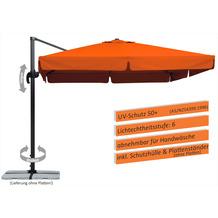 Schneider Schirme Sonnenschirm Rhodos 300x300 terracotta