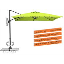 Schneider Schirme Sonnenschirm Rhodos Junior 270x270 apfelgrün
