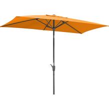 Schneider Schirme Sonnenschirm Tunis 270x150/6 mandarine