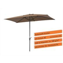 Schneider Schirme Sonnenschirm Tunis 270x150 mocca