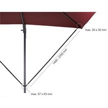 Schneider Schirme  Ampelschirm-Windsicherung