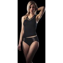 Schöller Damen Achselhemd, schwarz 38