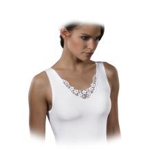 Schöller Damen Achselhemd, weiß 42