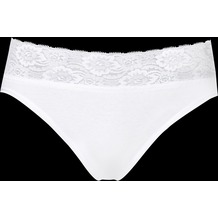 Schöller Damen Bikini-Slip, weiß 36