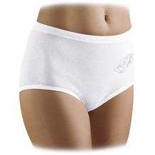 Schöller Damen Taillen-Slip, weiß 38