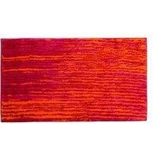 Schöner Wohnen Badteppich Mauritius Des. 003 Col. 010 Streifen rot 60 cm x 60 cm