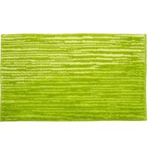 Schöner Wohnen Badteppich Mauritius Des. 003 Col. 030 Streifen grün 60 cm x 60 cm