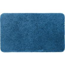 Schöner Wohnen Badteppich, Santorin, D. 001 C. 020 blau 55 x 65 cm