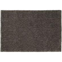 Schöner Wohnen Hochflor-Teppich Emotion 005 grau 70 cm x 140 cm
