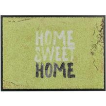 Schöner Wohnen Fussmatte Broadway Home Sweet Home grün 70x110