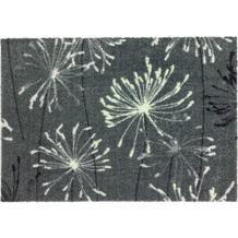 Schöner Wohnen Fußmatte Manhattan Design 001, Farbe 040 Pusteblume grau-mint 67 x 100 cm