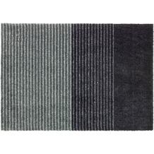 Schöner Wohnen Kollektion Fußmatte Manhattan Design 003, Farbe 044 Streifen anthrazit-grau 67 x 100 cm