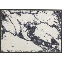 Schöner Wohnen Kollektion Fußmatte Miami Design 001, Farbe 004 Marmor silber 67 x 100 cm