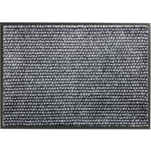 Schöner Wohnen Kollektion Fußmatte Miami Design 002, Farbe 040 Punkte anthrazit-grau 67 x 100 cm