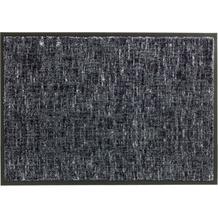 Schöner Wohnen Kollektion Fußmatte Miami Design 003, Farbe 040 Gitter grau 67 x 150 cm