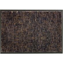 Schöner Wohnen Kollektion Fußmatte Miami Design 003, Farbe 044 Gitter anthrazit-taupe 67 x 150 cm