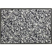 Schöner Wohnen Kollektion Fußmatte Miami Design 004, Farbe 004 Mezzopoint silber 67 x 100 cm