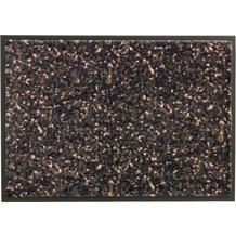 Schöner Wohnen Kollektion Fußmatte Miami Design 004, Farbe 046 Mezzopoint anthrazit-apricot 67 x 100 cm