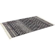 Schöner Wohnen Handwebteppich Urban Design 182 Farbe 040 grau 200 x 290 cm