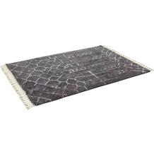 Schöner Wohnen Handwebteppich Urban Design 183 Farbe 040 grau 200 x 290 cm
