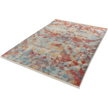 Schöner Wohnen Kollektion Schöner Wohnen Teppich Mystik D.211 C.099 Dreiecke bunt 70x140cm