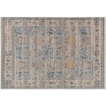 Schöner Wohnen Kollektion Teppich Mystik D.214 C.020 Orient Bordüre blau 70x140cm