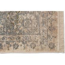 Schöner Wohnen Kollektion Teppich Mystik D.216 C.006 Bordüre grau/creme 70x140cm