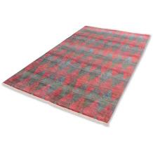Schöner Wohnen Kollektion Teppich Mystik D.213 C.099 Harlequin rot/grün 70x140cm