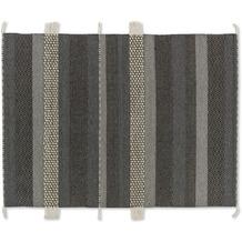 Schöner Wohnen Kollektion Teppich Botana D. 192 C. 040 Streifen d.grau/beige 140x200 cm