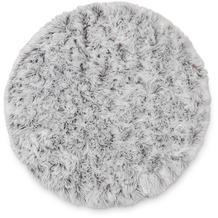 Schöner Wohnen Kollektion Teppich Delight D. 190 C. 060 braun 120 cm rund