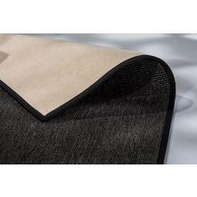 Schöner Wohnen Kollektion Teppich Galya D. 190 C. 040 anthrazit 120x180 cm