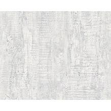 Livingwalls Uni-, Strukturtapete, Tapete, grau 944263 10,05 m x 0,53 m