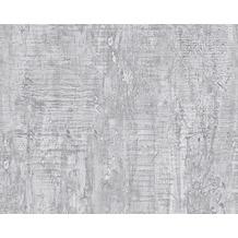 Livingwalls Uni-, Strukturtapete, Tapete, grau 944265 10,05 m x 0,53 m