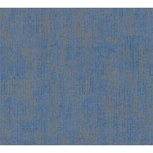 Schöner Wohnen Vliestapete Tapete blau metallic 10,05 m x 0,53 m