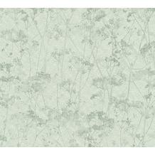 Livingwalls Vliestapete Tapete grau grün 359544 10,05 m x 0,53 m