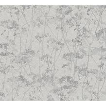 Schöner Wohnen Vliestapete Tapete grau schwarz 10,05 m x 0,53 m