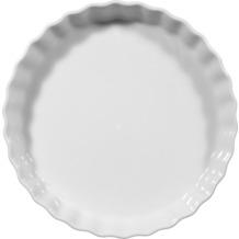 Seltmann Weiden Backform rund 25 cm Lukullus weiß uni 00006
