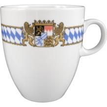 Seltmann Weiden Becher 5025 Compact Bayern 27110 blau, gelb, rot/rosa