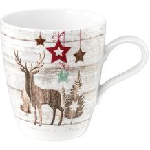 Seltmann Weiden Becher mit Henkel 0,40 l Life Christmas