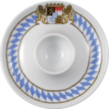 Seltmann Weiden Eierbecher mit Ablage Compact Bayern 27110 blau, gelb, rot/rosa