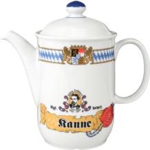 Seltmann Weiden Kaffeekanne 6 Personen Compact Bayern 27110 blau, gelb, rot/rosa