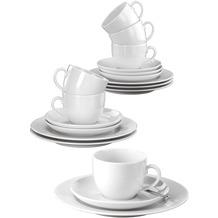 Seltmann Weiden Rondo Kaffeeservice für 6 Personen 18-teilig