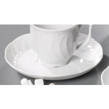 Seltmann Weiden Untere zur Kaffeetasse 14,5 cm Leonore weiß uni 7