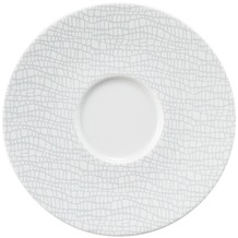Seltmann Weiden Kombi-Untertasse 16,5 cm Life Fashion elegant grey 25675