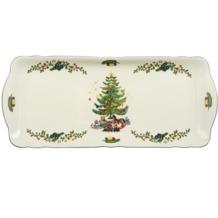 Seltmann Weiden Kuchenplatte eckig 35 cm Marie Luise Weihnachten 43607 bunt, grün
