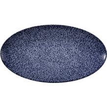 Seltmann Weiden Life Servierplatte oval 33x18 cm Denim Blue