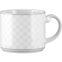 Seltmann Weiden Obere zur Kaffeetasse 0,21 l Holiday Palm Beach 20799 grau, schwarz