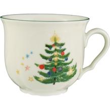 Seltmann Weiden Obere zur Kaffeetasse 0,21 l Marie Luise Weihnachten 43607 bunt, grün