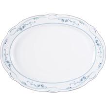 Seltmann Weiden Platte oval 31 cm Desiree Aalborg 44935 blau