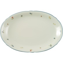 Seltmann Weiden Platte oval 31 cm Marie Luise Streublume 30308 bunt